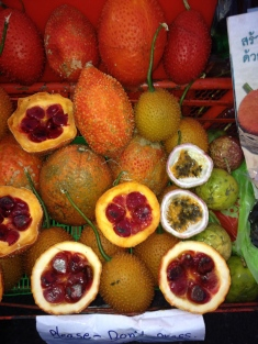 Exotic fruits, Chiang Mai Thailand (2013)