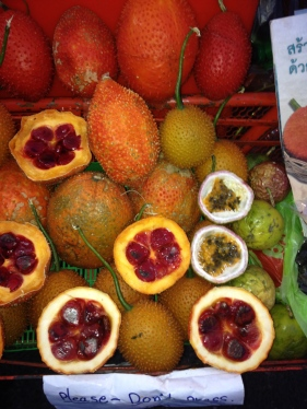 Exotic fruits, Chiang Mai Thailand (2013)