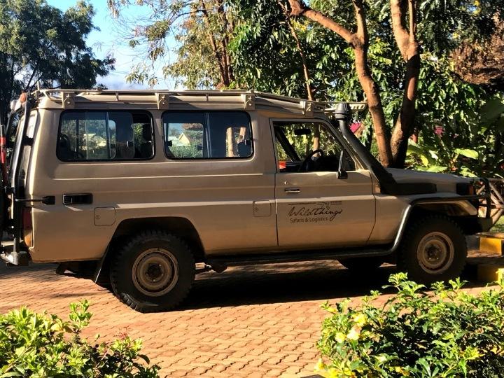 our safari car